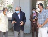 محافظ الجيزة: ذبح 900 أضحية بمجازر المحافظة حتى الآن للمواطنين بالمجان
