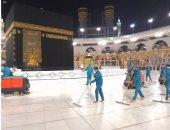 شئون الحرمين تكثف الإجراءات الاحترازية بالمسجد الحرام بعد أداء الحجاج طواف الإفاضة