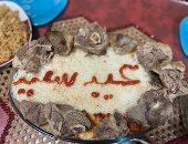 """""""هدى"""" من سموحة بالإسكندرية تشارك """"صحافة المواطن"""" صورة لطبق الفتة"""