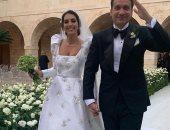 ملكة جمال لبنان لعام 2015 تتحدى كورونا بحفل زفاف والأمن يتدخل.. فيديو وصور