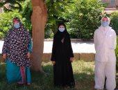تعافى حالتين من فيروس كورونا بمستشفى حميات بنى سويف
