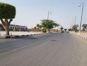صور.. شوارع الأقصر خالية من مظاهر الاحتفال بالعيد نتيجة الحرارة المرتفعة
