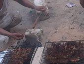 عبد السلام من سيوه يشارك بصور لشواء لحمة وكفتة العيد