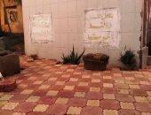 صور.. مبادرة أهالى قرية ميت حبيش البحرية بالغربية لرصف شوارع المقابر بالإنترلوك