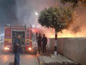 السيطرة على حريق داخل مبنى مهجور فى الهرم دون إصابات