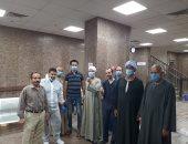فرحة ثالث أيام العيد.. مستشفى الأقصر العام تشهد خروج 5 حالات شفاء من كورونا