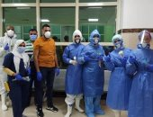 مستشفى العديسات للعزل الصحى تنجح فى علاج وشفاء أكثر من 250 حالة من كورونا