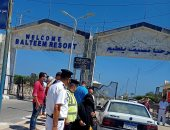 صور.. استمرار غلق المتنزهات ومصيف بلطيم لليوم الرابع بكفر الشيخ