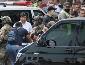 جهاز الأمن الأوكرانى يعلن اعتقال رجل هدد بتفجير مصرف وسط العاصمة كييف.. صور