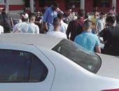 إصابة ربة منزل فى انقلاب سيارة على طريق بنها القناطر الخيرية أمام البرادعة