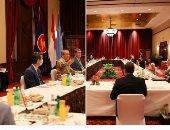 """افطار جماعى بـ """" الماسك """"فى مجلس الأمن برئاسة اندونيسيا.. صور"""