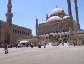 القلعة تستقبل زوارها.. المصريون يتحدون كورونا بالتنزه بحصن صلاح الدين الأيوبي