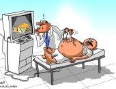 كاريكاتير صحيفة سعودية.. معاناة الإنسان بعد عيد الأضحى