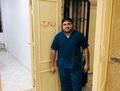 """إصابة طبيب في """"حميات الإسماعيلية"""" بكورونا وعزله فى أبو خليفة.. صور"""