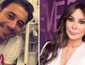 """وصلة غزل بين إليسا وأحمد السعدنى بسبب ألبوم """"صاحبة رأى"""".. اعرف الحكاية إيه"""