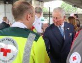 أمير ويلز يوجه رسالة مصورة للصليب الأحمر البريطانى بمناسبة ذكرى تأسيسه الـ150