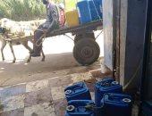 استمرار معاناة الأهالى من انقطاع مياه الشرب بشارع الإيمان ببشتيل