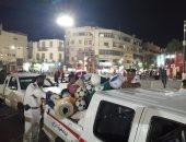 تحرير 149 محضر مخالفات متنوعة فى حملات بمدينة الأقصر