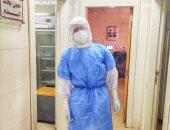 """الجيش الأبيض.. """"عمر"""" أخصائى مختبرات طبية بمستشفى بئر العبد فى مواجهة كورونا"""