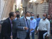 محافظ المنيا يحٌيل رئيسا قريتين ومسؤولى الإزالات وفنى التنظيم للتحقيق