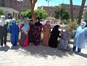 تعافى 8 حالات جديدة من فيروس كورونا بمستشفى حميات بنى سويف