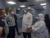توسعة وحدة المبتسرين وتجديد مصاعد المستشفى الجامعى ببنى سويف بـ7 ملايين جنيه
