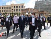 رئيس الوزراء يتفقد مشروعات مدينة برج العرب الجديدة