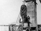 شاهد صورة عمرها 134 عاما خلال تركيب أسدى كوبرى قصر النيل