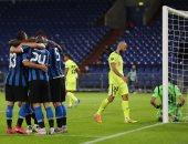 إنتر ميلان يتأهل لربع نهائي الدوري الأوروبي بثنائية ضد خيتافي.. فيديو