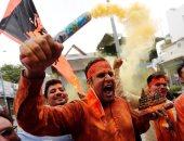 رئيس وزراء الهند يشهد بدء بناء معبد هندوسي على أنقاض مسجد بابري
