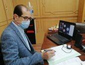 نائب رئيس جامعة الأزهر يبحث مع عمداء كليات الطب الاستعداد للعام الدراسى
