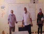 رئيس مدينة رأس سدر يتفقد مقار انتخابات مجلس الشيوخ