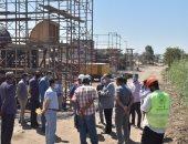 محافظ أسيوط يتفقد الأعمال الإنشائية لكوبري منقباد بطريق القاهرة الزراعي