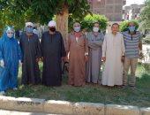 تعافى 6 مصابين بكورونا وخروجهم من مستشفى حميات بني سويف