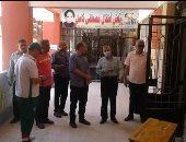 """سكرتير عام بورسعيد يتابع استعدادات انتخابات """"الشيوخ"""" فى عدة أحياء.. صور"""
