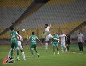 الشوط الأول.. تعادل سلبي بين الزمالك والمصري فى بطولة الدوري