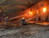 اندلاع حريق فى مستشفى مخصص لعلاج حالات كورونا بالإسكندرية.. فيديو
