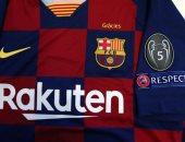 برشلونة ضد نابولى.. رسالة شكر على قميص البارسا للأطباء لمجهوداتهم ضد كورونا