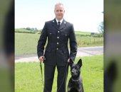 كلب بوليسى يعثر على أم وطفلها مفقودين فى أول مهمة عمل له