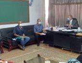 تعليم المنيا يناقش قواعد النقل والندب والعجز والزيادة للعام الدراسى الجديد