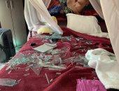 دومينيك تروى تفاصيل نجاتها وابنتها من الموت فى تفجيرات بيروت.. فيديو وصور