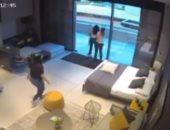 فيديو صادم للحظة إصابة 3 فتيات فى تفجيرات العاصمة اللبنانية بيروت