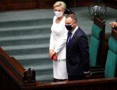 الرئيس البولندى يؤدى اليمين الدستورية أمام البرلمان وسط إجراءات احترازية