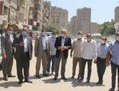 الجيزة تزيل حالتى بناء مخالف فى مدينة أبو النمرس و5 حالات بالحوامدية