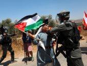 مواجهات بين الاحتلال الإسرائيلى ومتظاهرين ضد خطط الاستيطان برام الله