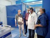 تشغيل العناية المركزة فى مشتول بالشرقية وعودة العيادات الخارجية للعمل