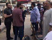جولة محمد عادل إمام والشافعي وسط أهالي إمبابة.. صور