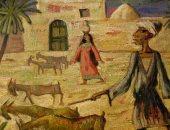 """100 لوحة مصرية.. """"الراعى"""" للفنان الكبير راغب عياد"""