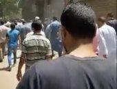 فيديو.. لحظة دفن جثامين المصريين ضحايا انفجار مرفأ بيروت في الغربية