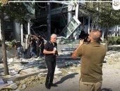 """وائل الإبراشى"""" يقدم تغطية خاصة من بيروت لآخر تطورات الأوضاع فى لبنان"""